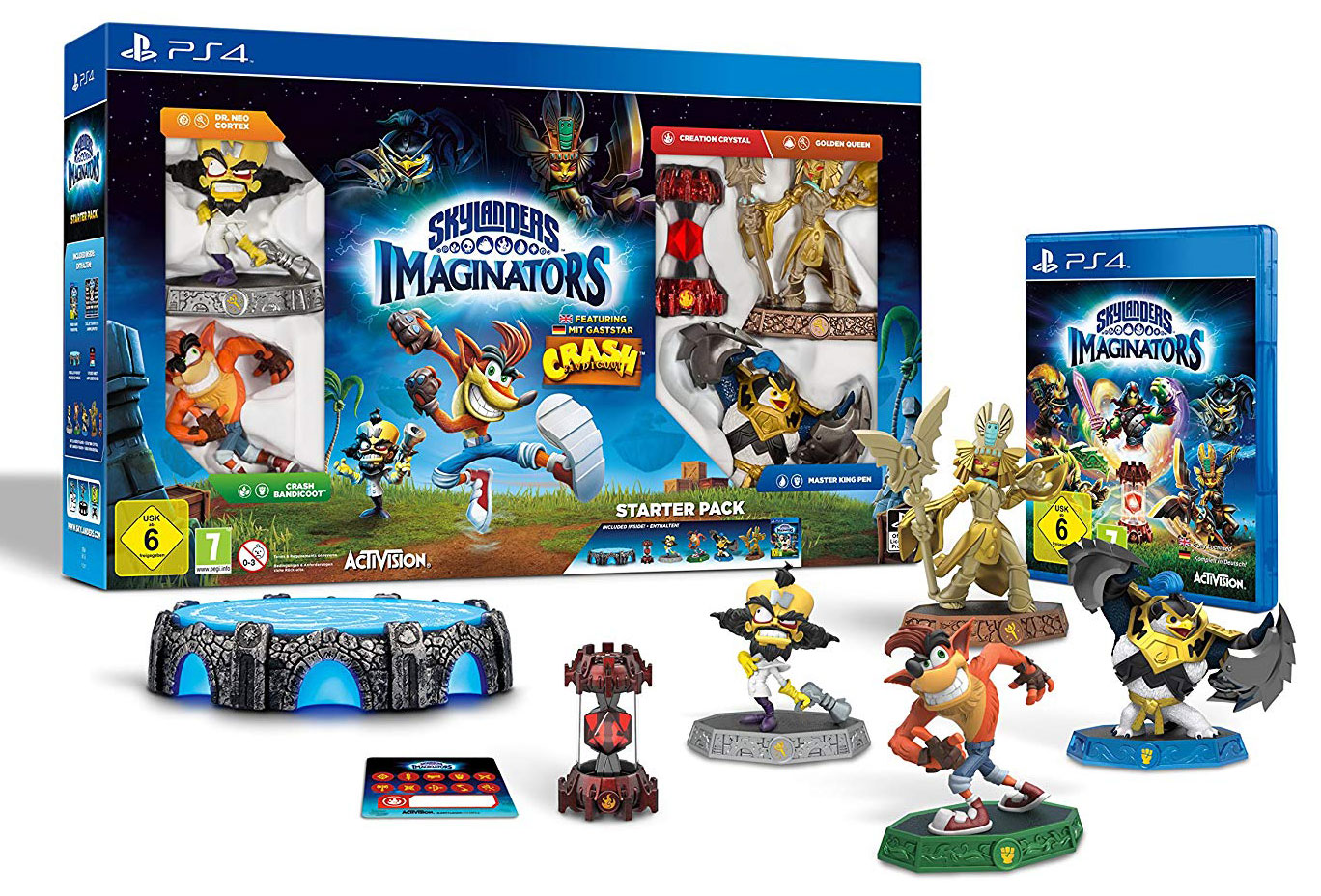 Skylanders: Imaginators Starter Pack - Crash Bandicoot Edition PS4
