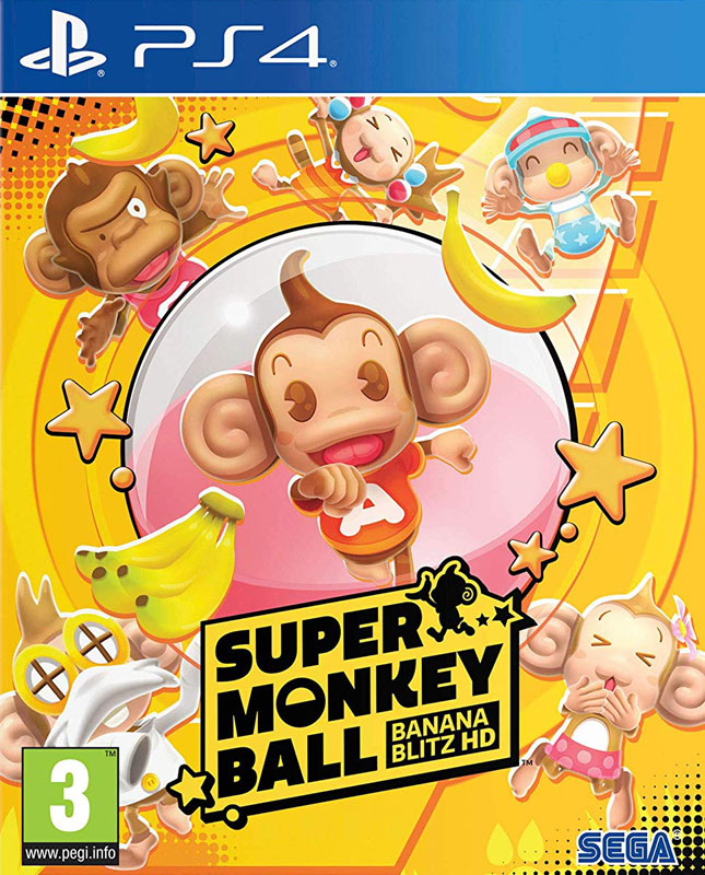 Super Monkey Ball: Banana Blitz HD PS4