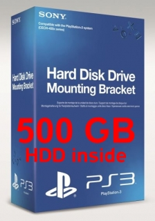 harddisk 500 GB pro Playstation 3 Superslim