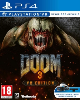 Doom 3 VR PS4 - vyžaduje Playstation VR