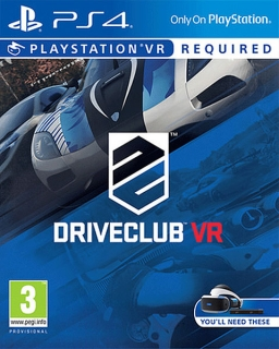 Driveclub VR PS4 - vyžaduje Playstation VR