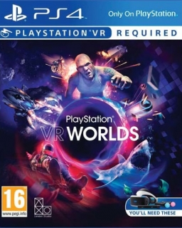 VR Worlds PS4 - vyžaduje Playstation VR