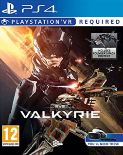 Eve: Valkyrie VR PS4 - vyžaduje Playstation VR