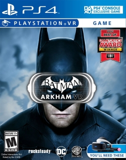 Batman VR PS4 - vyžaduje Playstation VR