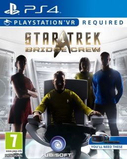 STAR TREK: Bridge Crew VR PS4 - vyžaduje Playstation VR