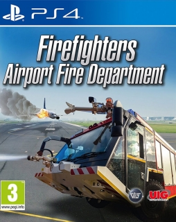 Airport Fire Department - The Simulation PS4