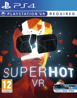 Superhot VR PS4 - vyžaduje Playstation VR