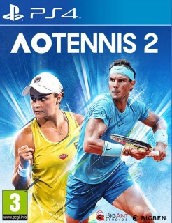 AO International Tennis 2 PS4