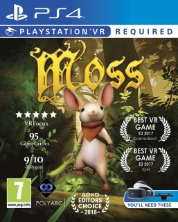 Moss VR PS4