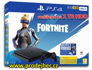 Playstation 4 Slim 1TB + Fortnite Neo Versa