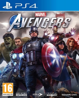 Marvel Avengers PS4 CZ