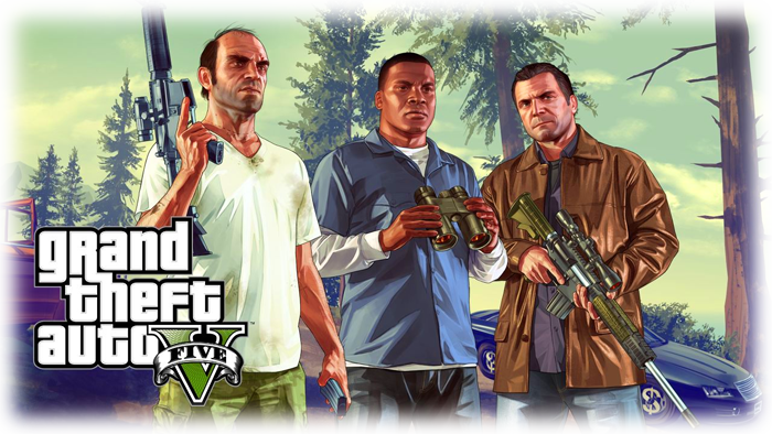 Grand Theft Auto 5 hra na Playstation 4