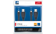 Play&Charge cable set PS4 (dobíjecí kabely)