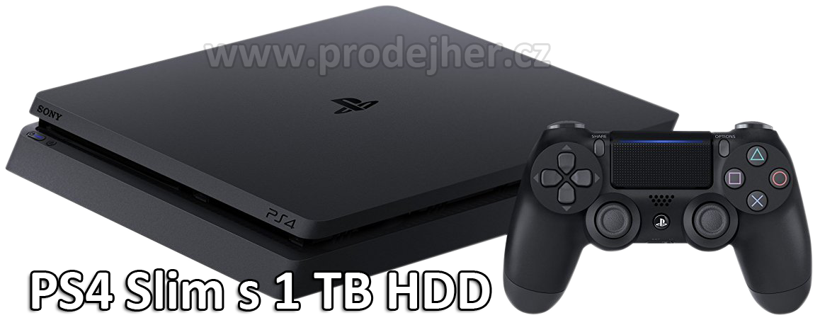 Playstation 4 Slim s 1TB HDD
