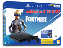 Playstation 4 Slim 1 TB + Fortnite Neo Versa (2000 V-bucks)
