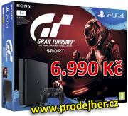 PS4 Slim 1 TB Gran Turismo bundle