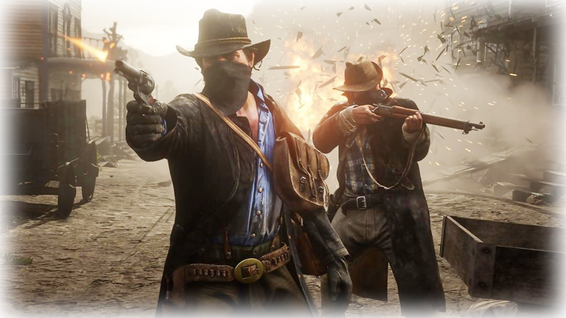 Red Dead Redemption 2 hra na Playstation 4