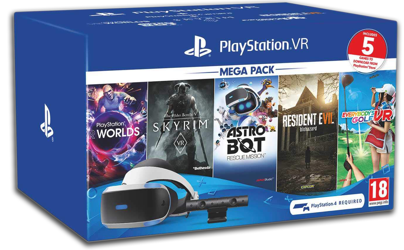 Playstation VR v2 Megapack 2 bundle