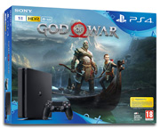 Sony PS4 Slim 1TB bundle s hrou God of War v češtině