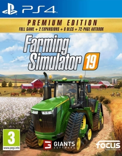Farming Simulator 19 Premium Edition PS4 CZ