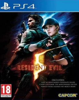 Resident Evil 5 HD PS4