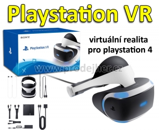 Playstation VR v2 + hra VR Worlds