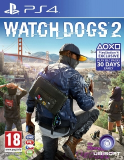 Watch Dogs 2 PS4 (CZ)