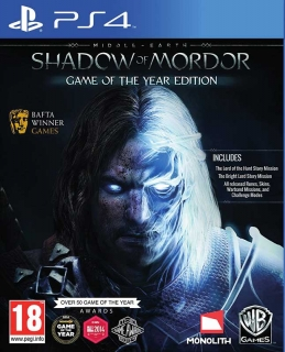 Middle-Earth: Shadow of Mordor - GOTY Edition PS4